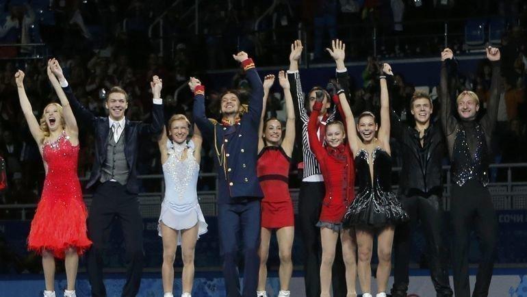 В фигурном катании может увеличиться число олимпийских чемпионов. Фото REUTERS