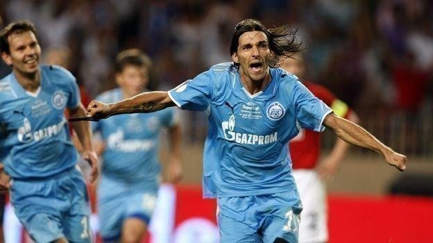 29 августа 2008 года. Монако. «Зенит» - «Манчестер Юнайтед» - 2:1. Данни. Фото AFP
