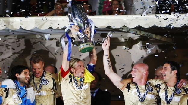 29 августа 2008 года. Монако. «Зенит» - «Манчестер Юнайтед» - 2:1. Фото AFP