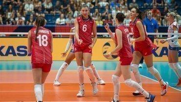 29 августа. Братислава. Россия — Словакия — 3:0. Россиянки вышли в плей-офф Евро-2019 со второго места в группе.