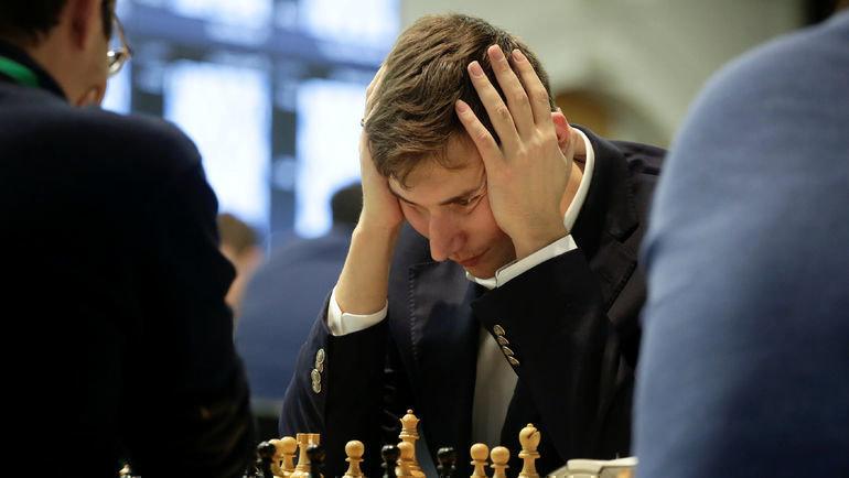 Сергей Карякин. Фото REUTERS