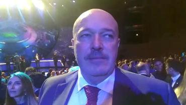 Василий Кикнадзе— ожеребьевке Лиги чемпионов для «Локо»