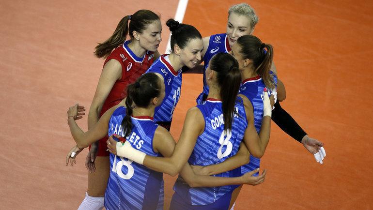 Женская сборная России. Фото FIVB