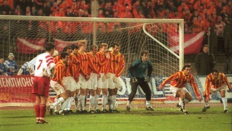 16 ноября 1996 года. Санкт-Петербург. «Спартак» — «Алания» 2:1
