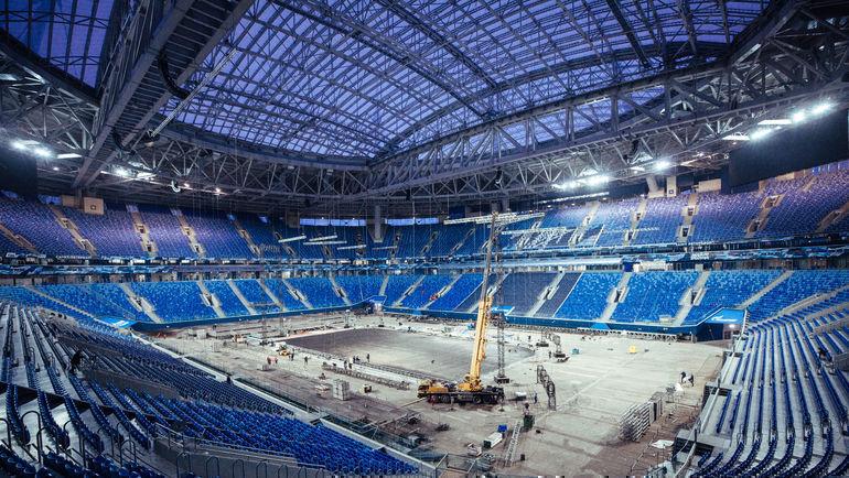 В 2018 году арена принимала хоккейные матчи. Фото photo.khl.ru