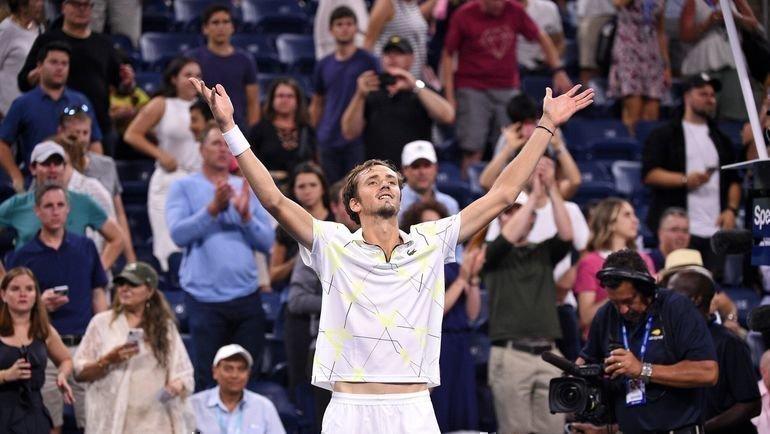 Даниил Медведев. Фото US Open