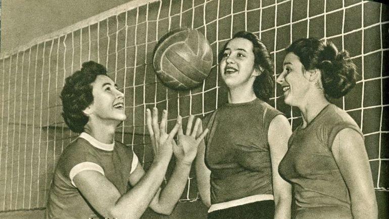 1958 год. Валентина Свиридова, Алла Тишкевич и Тамара Рыжова-Аленичева (слева направо).