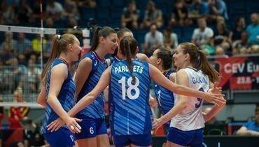 1 сентября. Братислава. Россия - Бельгия - 3:1. Россиянки празднуют победу.