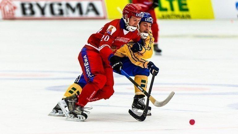 Россия - Швеция. Фото Вячеслав Айкин