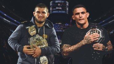 Онлайн поединка между Хабибом Нурмагомедовым и Дастином Порье на UFC 242.