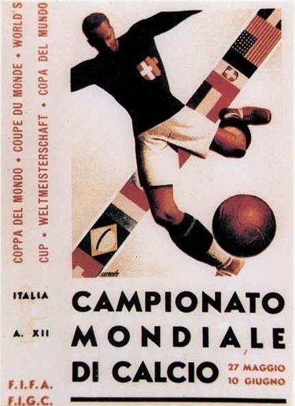 Чемпионат мира 1934 года - Италия.