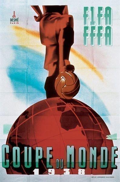 Чемпионат мира 1938 года - Франция.