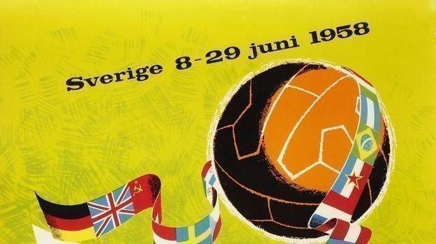 Чемпионат мира 1958 года - Швеция.