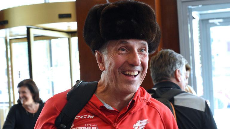 Вот так Боб Хартли приехал с «Авангардом» в Балашиху в августе 2018 года. Фото Владимир Беззубов, photo.khl.ru