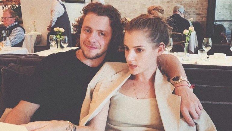 Артемий Панарин и Алиса Знарок. Фото Instagram