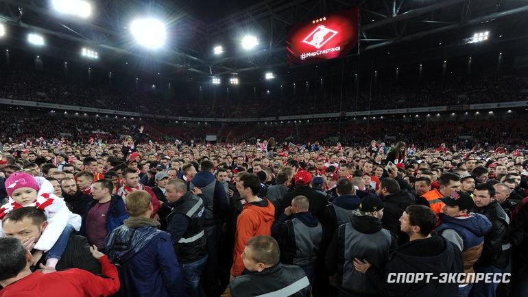 Самый счастливый момент в жизни стадиона - чемпионство «Спартака».