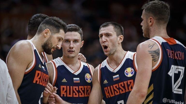 Сборная России по баскетболу. Фото FIBA
