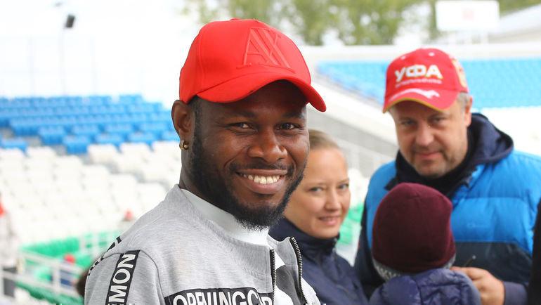 Сильвестр Игбун переехал из Уфы в «Динамо». Фото Валерий Шахов