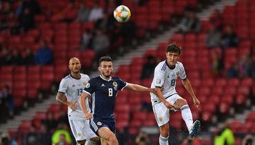6 сентября. Глазго. Шотландия - Россия - 1:2. Юрий Жирков отметился победным голом.