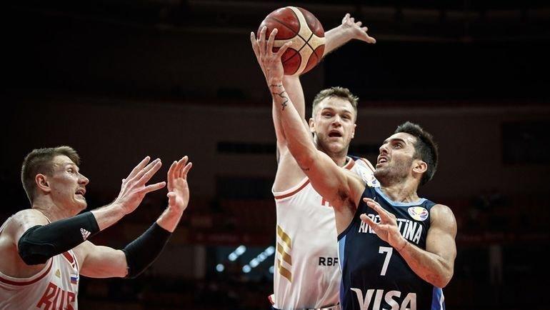 Россия против Аргентины на ЧМ-2019. Фото FIBA