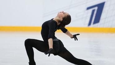 7 сентября. Москва. Алина Загитова представляет новую короткую программу.