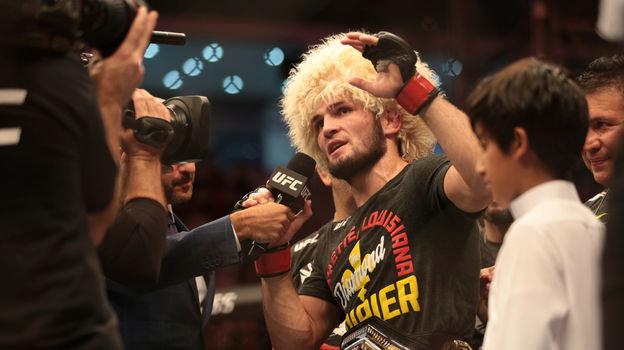 7 сентября. Абу-Даби. UFC-224. Непобедимый чемпион мира Хабиб Нурмагомедов.