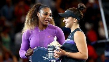 Серена несмогла выигратьUS Open. Главные кадры финала