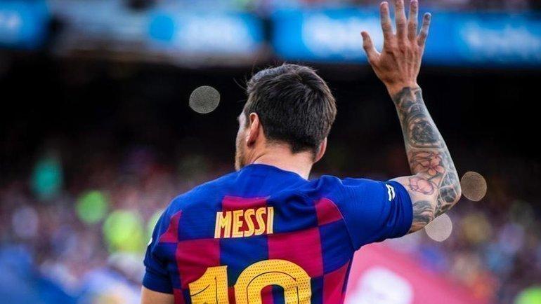 Лионель Месси. Фото ФК «Барселона»