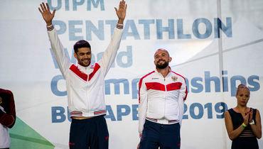 Данил Калимуллин (слева) и Александр Лесун.