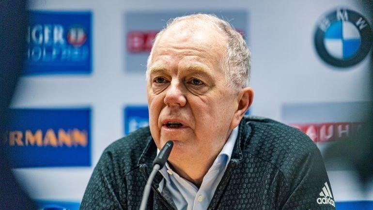 Глава IBU Олле Далин. Фото AFP