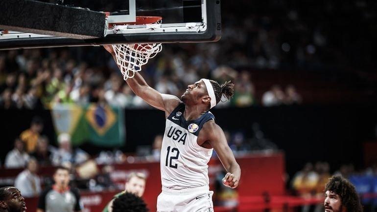 9 сентября. Шеньчжэнь. США - Бразилия - 89:73. Фото FIBA