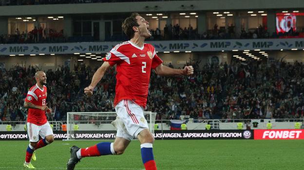 Россия— Казахстан— 1:0, отбор Евро-2020, 9сентября 2019, как сыграл Мариу Фернандес