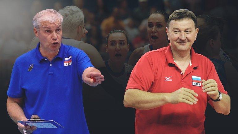 Вадим Панков (слева) иСерджио Бузато. Фото «СЭ»