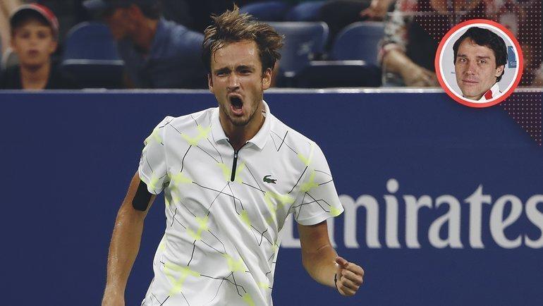 Иван Приданкин— бывший тренер финалистаUS Open Даниила Медведева. Фото AFP