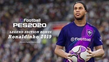 Роналдинью— легенда вPES 2020.