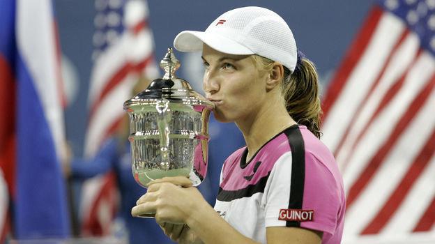 11сентября 2004 года. Нью-Йорк. Светлана Кузнецова. Фото AFP