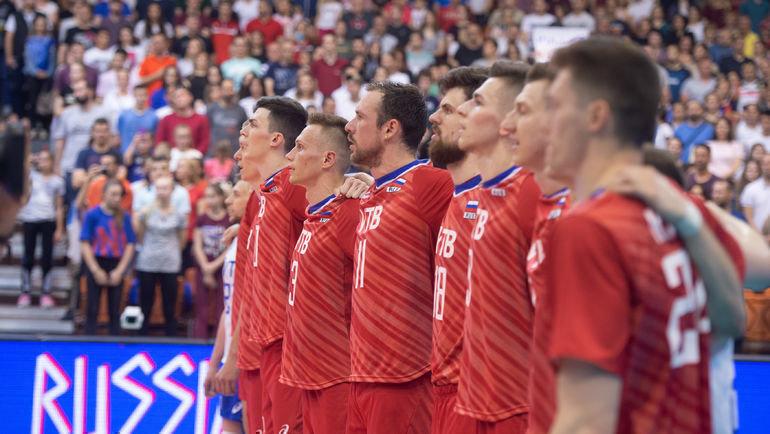 Сборная России. Фото FIVB
