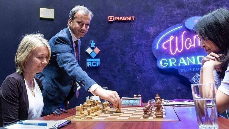 Аркадий Дворкович наоткрытии турнира в «Сколоково». Фото Давид Льяд