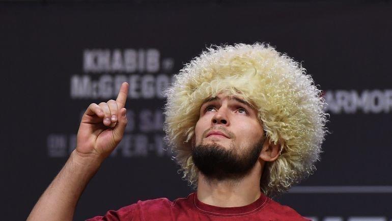 Хабиб Нурмагомедов. Фото AFP