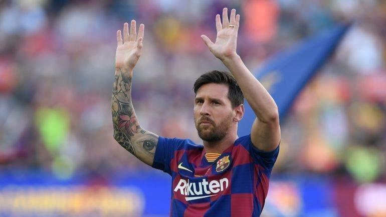 УЛионеля Месси тату больше, чем титулов сосборной. Фото Reuters