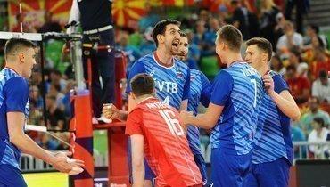 14сентября. Любляна. Россия— Северная Македония— 3:0. Россияне одержали третью победу начемпионате Европы.