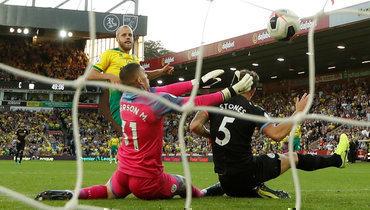 14сентября. Норвич. «Норвич»— «Манчестер Сити»— 3:2. Гол Теему Пукки.
