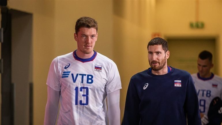 Максим Михайлов (справа) иДмитрий Мусэрский. Фото cev.eu