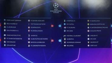 Лига чемпионов-2019/20. 1-й тур