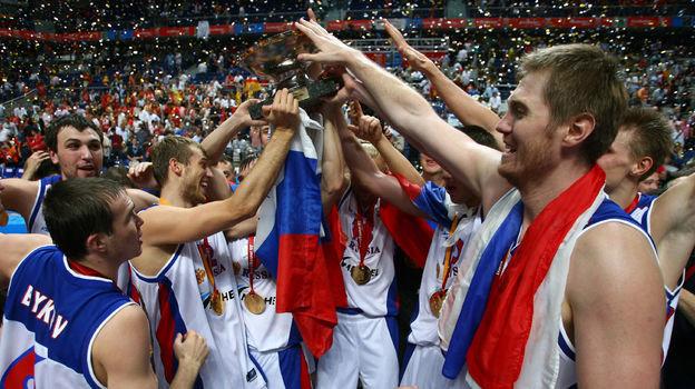16сентября 2007 года. Мадрид. Испания— Россия— 59:60. Фото AFP