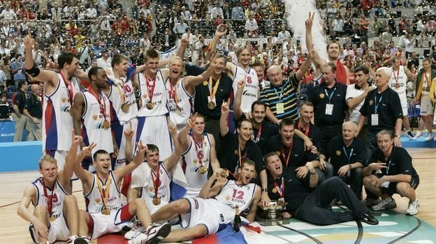 16сентября 2007 года. Мадрид. Испания— Россия— 59:60. Фото Reuters