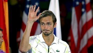 8сентября. Нью-Йорк. Даниил Медведев после финалаUS Open.
