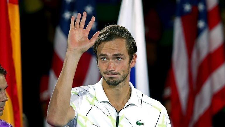 8сентября. Нью-Йорк. Даниил Медведев после финалаUS Open. Фото AFP