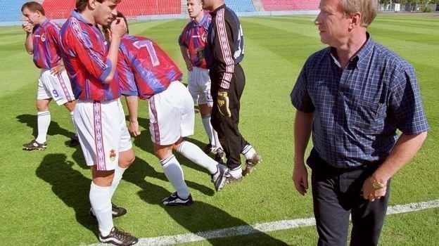 2000 год. Павел Садырин сигроками ЦСКА. Фото Алексей Иванов