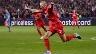17сентября. «Зальцбург»— «Генк»— 6:2. Эрлинг Холанд забил три мяча вэтом матче.